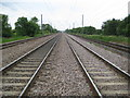 TL1836 : East Coast Main Line at Arlesey (1) by Nigel Cox