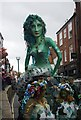 TQ8209 : Jack in the Green Festival 2010 - Mermaid by N Chadwick