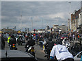 TQ8209 : Traffic Chaos on Marine Parade by Oast House Archive