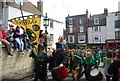 TQ8209 : Jack in the Green Festival 2010 - Rabble drummers by N Chadwick