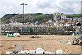 TQ8209 : Pots, Hastings beach by N Chadwick