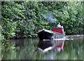 SK1413 : Working boat on the Coventry Canal near Fradley, Staffordshire : Week 25