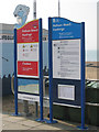 TQ8209 : Pelham Beach Safety Signs by Oast House Archive