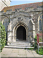 TQ8209 : Entrance to St Clement's Church by Oast House Archive