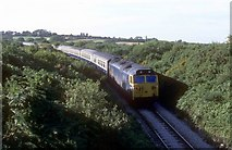 SX0160 : The Newquay to Par railway  by roger geach