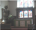 TQ2471 : St Mary's church, Wimbledon: altar by Stephen Craven