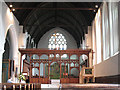 TQ2470 : St John's church: interior by Stephen Craven