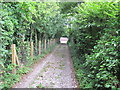SJ4466 : Brickfield Lane, Vicarscross by David Quinn