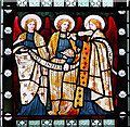 TF8036 : All Saints' church in Stanhoe - Victorian stained glass by Evelyn Simak