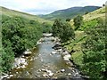 NN9071 : Upstream view by James Allan