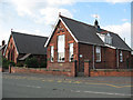 SJ7066 : St Mary's hall, Middlewich by Stephen Craven