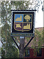 TQ6940 : Horsmonden Village Sign by Oast House Archive