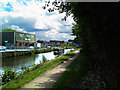 SD5607 : Traffic on the Leeds Liverpool canal by Ian Greig