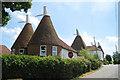 TQ7537 : The Lower Oast House, Four Wents Farm, Goudhurst Road, Cranbrook, Kent by Oast House Archive