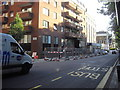 TQ2678 : Preparation for The Barclays Cycle Hire London by PAUL FARMER
