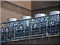 TQ3280 : Evaporative condensers at Tate Modern by Patrick Mackie