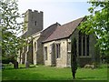 TL7148 : Barnardiston All Saints Church by Adrian S Pye
