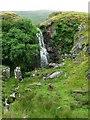 NS7280 : Waterfall on the Banton Burn by Robert Murray