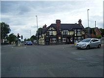 SJ8643 : The Black Lion public house, Trent Vale by Colin Pyle