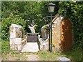 SW8661 : Lychgate, Colan by Derek Harper