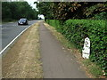 TL1691 : Old Milepost by Keith Evans