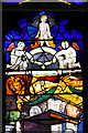 TF6605 : St Mary's church in Stradsett - C16 glass by Evelyn Simak