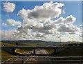 SD7025 : Motorway towards Blackburn by Gerald England