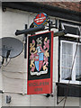 TR2547 : Bricklayers Arms sign by Oast House Archive