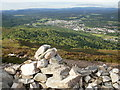 NH8913 : Aviemore in the evening sunlight by Peter S