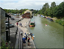 SU0061 : Devizes Wharf by Russel Wills