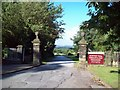 SK3099 : Wortley Hall Entrance Gate by Jonathan Clitheroe