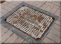 J3374 : PKS manhole cover, Belfast by Albert Bridge