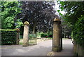 TG2007 : Eaton Park Entrance, South Park Rd by N Chadwick