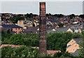 SE4003 : Wombwell Brickyard Chimney by Jeff Pearson