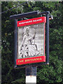 TR1835 : The Britannia sign by Oast House Archive