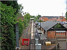 SP0367 : End of the line - Redditch Railway Station by P L Chadwick