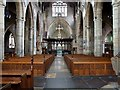TF2522 : The Interior of the Church of St Mary and St Nicolas, Spalding by Dave Hitchborne
