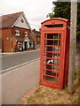 SU7828 : Liss Forest: red telephone box by Chris Downer