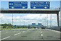 ST6083 : M5 northbound near Junction 16 : Week 31