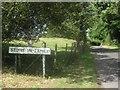 TQ9327 : Stone in Oxney Village Sign by David Anstiss