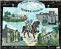ST6258 : 2010 : Village sign, Temple Cloud by Maurice Pullin