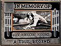 J3373 : Alex Higgins memorials, Belfast (1) by Albert Bridge