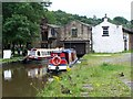 SK0181 : Canal warehouse, Whaley Bridge by David Martin