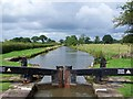 SJ9066 : Pound between Bosley Locks 1 and 2, Macclesfield Canal : Week 31