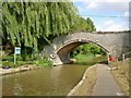 SJ4465 : Bridge number 120 Shropshire Union Canal by Steve  Fareham