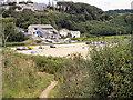 SW7929 : Cliff Path above Maenporth by David Dixon