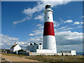 SY6768 : Portland Bill Lighthouse, Dorset by Christine Matthews