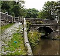 SJ9688 : Church Lane Canal Bridge by Gerald England