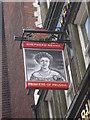 TQ3380 : Princess of Prussia Pub Sign by David Anstiss