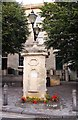 SU2895 : An old water pump in the Market Square by Steve Daniels